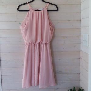 LUSH pink dress